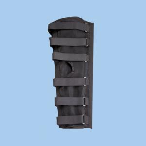 Knee Immobilizer Black (Large) - Per Pack of 5