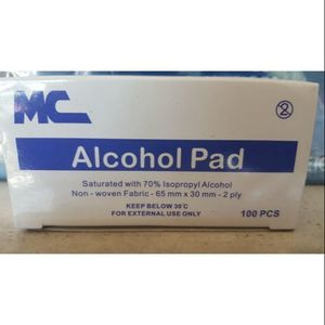 MC Alcohol Pad - (100 pieces)