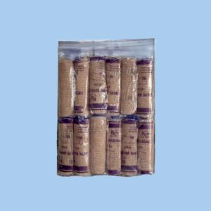 "Dr. Care 4"" Elastic Bandage ""Crepe""  - Per Pack of 12 Rolls"