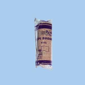 "Dr. Care 6"" Elastic Bandage ""Crepe""  - Per Pack of 12 Rolls"