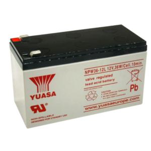 Yuasa Sealed Lead Acid Battery 12v, 36w/Cell, 10min for UPS