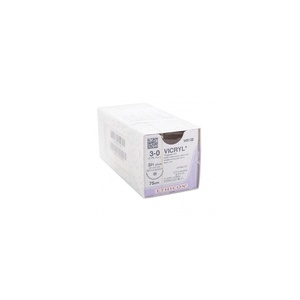 Vicryl 3-0, round needle - Box of 12