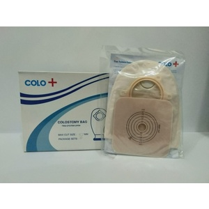 Colostomy bag with wafer clip 57 mm / set