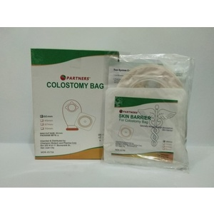 Colostomy bag with wafer clip 60 mm / set