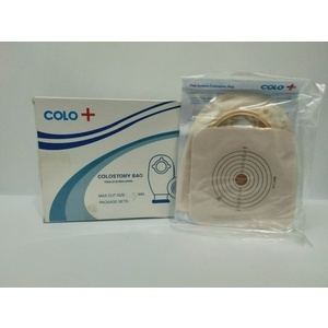 Colostomy bag with wafer clip 70 mm / set