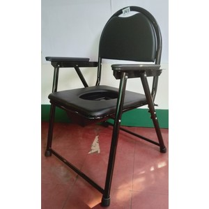 Commode chair - with seat cover / unit