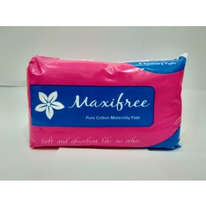 Maxifree Maternity pads 8's per pack