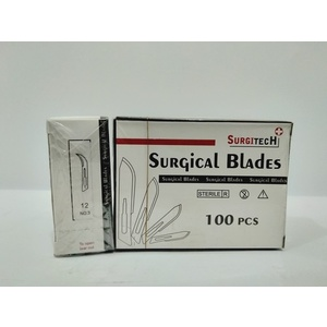 Surgical Blade - Size 12 - 100's per box