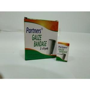 Partners Gauze bandage 2in x 10yds. -  dozen/box