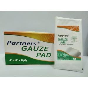 Gauze pad sterile 4in x 4in x 8ply 100's per box