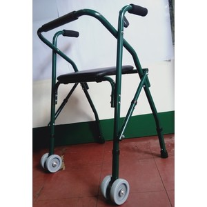 Walker with seat / unit