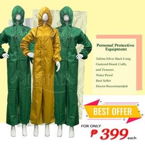 PPE  HAZMAT SUIT