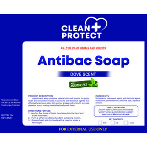 CleanProtect AntiBacterial Hand Soap - Dove Scent