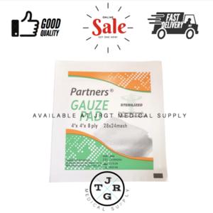 Gauze Pad 4x4 Sterile (100pcs)