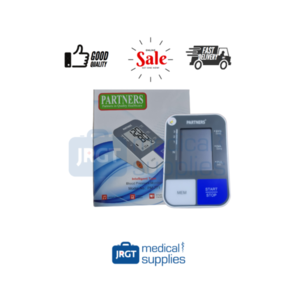 Partners Automatic Talking Blood Pressure Monitor (with Arm Cuff and  Adaptor)