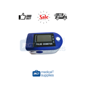 Finger Clip Pulse Oximeter (JN) (Comes with Jelly Case, Battery and Pouch)