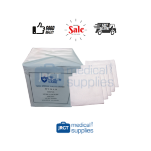 Pro Health Care Absorbent Gauze Pads / Swabs 4x4 (1 Pack - 100 pcs) Non-Sterile