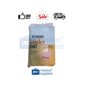 Yoshi Underpads, 1 Pack (10 pcs), Size: (60cm x 90cm)