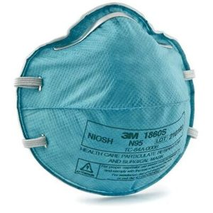 3M™ Health Care Particulate Respirator and Surgical Mask 1860S