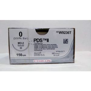 PDS™ II (polydioxanone) Suture (W9236T) - BX OF 24'S