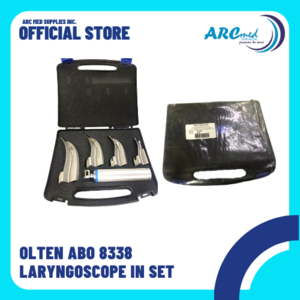 OLTEN ABO 8338 Laryngoscope in set for adult