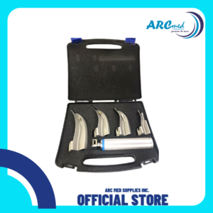 OLTEN ABO 8338 Laryngoscope in set for Pedia