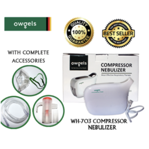 Owgels Compressor Nebulizer  WH-703 with COMPLETE ACCESSORIES