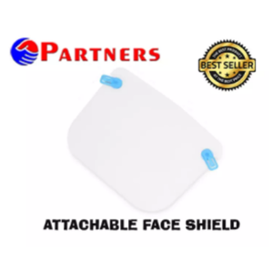 Partners Attachable Face Shield for Glasses and Shade