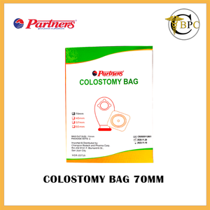 Partners Colostomy Bag 70 mm (6 sets)