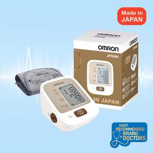 Omron JPN500 [HEM-7123-AP3] Automatic Blood Pressure Monitor