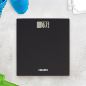 OMRON HN-289 Digital Weighing Scale - Black