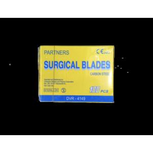 PARTNERS surgical blade carbon steel(100pcs)  #22
