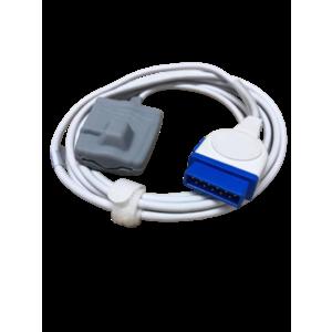 SpO2 Sensor 11 pins, Rubber type for GE Nellcor Oxismart