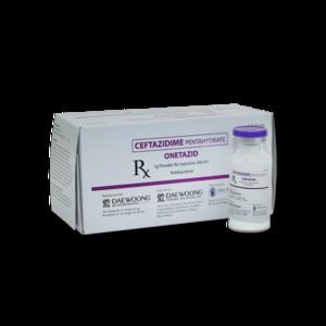 Onetazid (Ceftazidime) 1 g IV/IM 10's