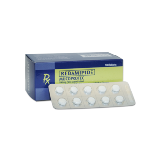 Mucoprotec (Rebamipide) 100 mg Tablet 100's