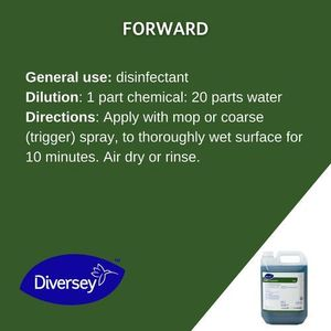 Diversey Forward Disinfectant Cleaner 5L
