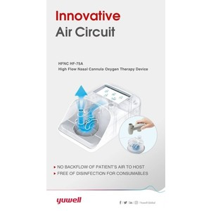 Yuwell High Flow Cannula with Heater & Humidifier