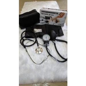 MTI-France Aneroid Sphygmomanometer BP Apparatus with Stethoscope