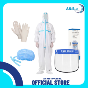 Disposable Isolation Coverall with Heat Seal Non Woven Bundle A