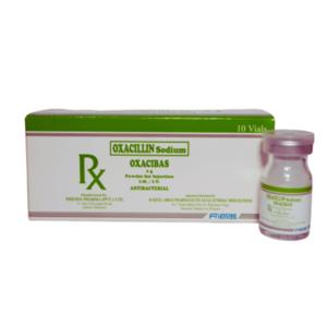 "Oxacilin Sodium                                                                                                                                        ""Oxacibas""                                                                                              - 10 vials/box"
