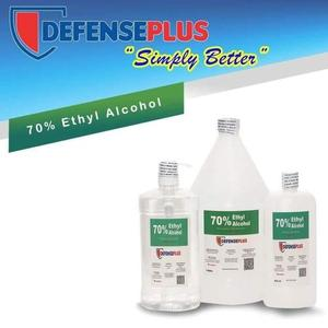 DefensePlus 70% Ethyl Alcohol - 1 Gallon