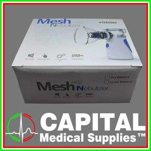 WINGUARD, Mesh Nebulizer, (with Adult Mask, Child Mask, USB Cable), 1 pc