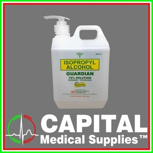 GUARDIAN, Isopropyl Alcohol 70% Solution, Antiseptic 1 Liter