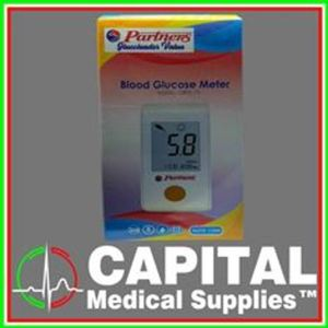 PARTNERS, Glucoleader Value, Blood Glucose Meter, (Auto Code), 1 pc
