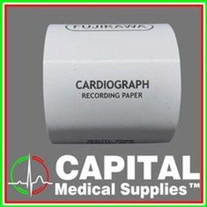 FUJIKAWA, Cardiograph Recording Paper, (50x30mm), 1 roll