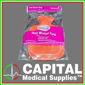 Rubber Hot Pack, Water Bag, Para Aid,Aches, Pain Sports, Color Red 500 ml