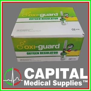 OXI-GUARD, Oxygen Regulator, Heavy Duty, 15 / min, 1 set