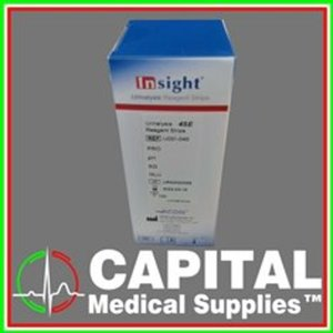 INSIGHT, Urinalysis Reagent Urine Strips, 4 parameter