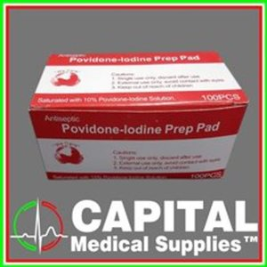 Povidone Iodine Prep Pap, Antiseptic 10% , 100 pcs