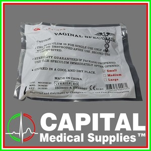 PARTNERS. Vaginal Speculum, Size (Small) 1 pack